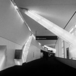 LIGHT-BEAMS FOR THE SKY OF A TRANSFER CORRIDOR