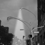 AN UNLOOSING OF LIGHTS ON NEW YORK CITY