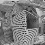 CITY OF WORDS WALLPAPER